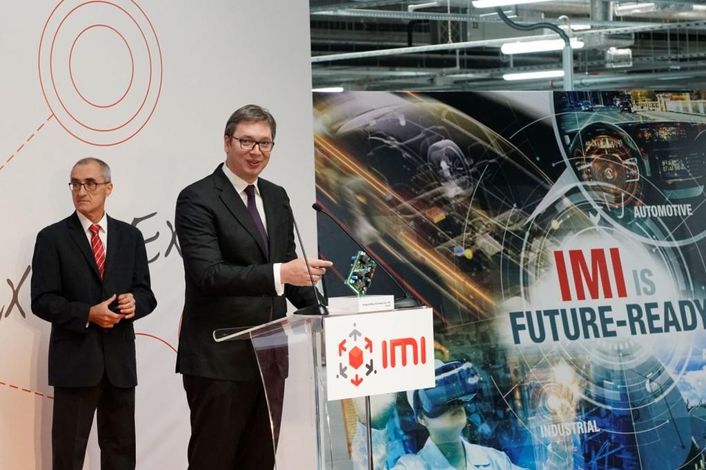 IMI Zvanični program_Obraćanje Predsednika Srbije Vučića
